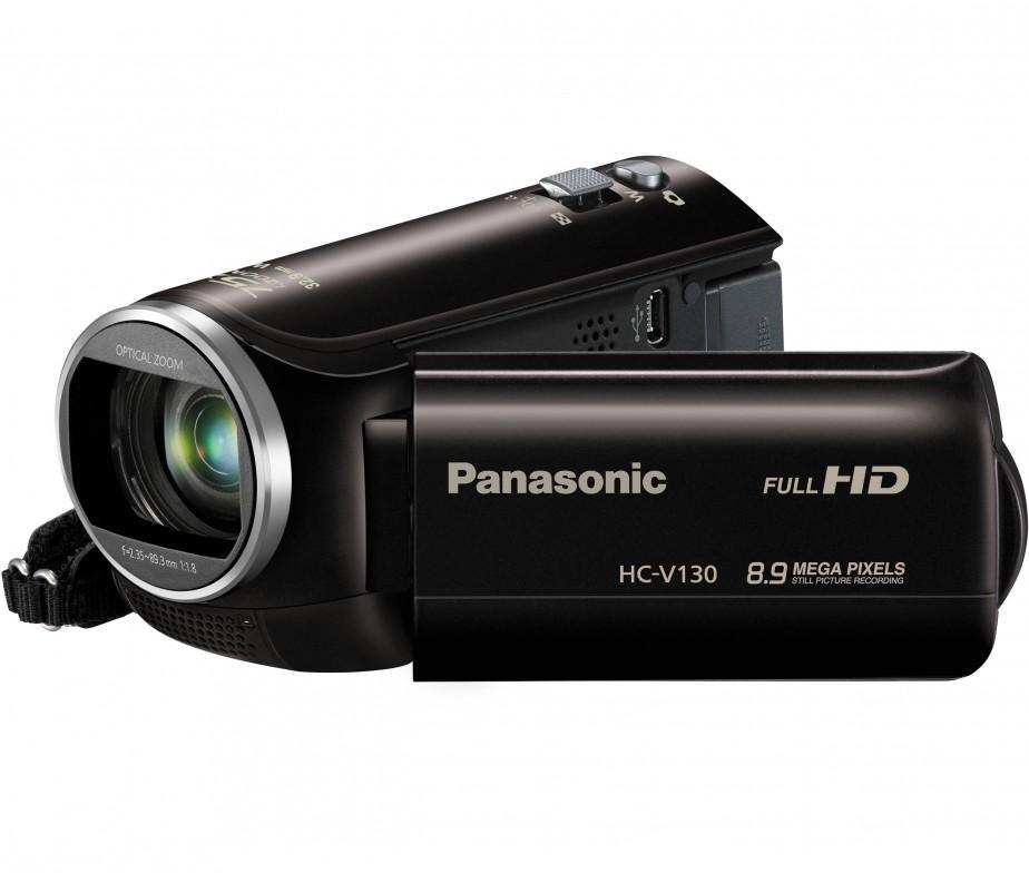 Panasonic Hc V130 38x Optical Flash Memory Full Hd