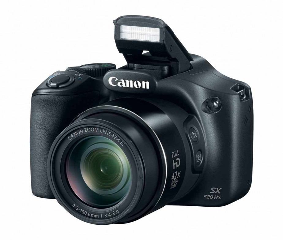 Canon PowerShot SX520 HS 16.0 MP Digital Camera - Price in ...
