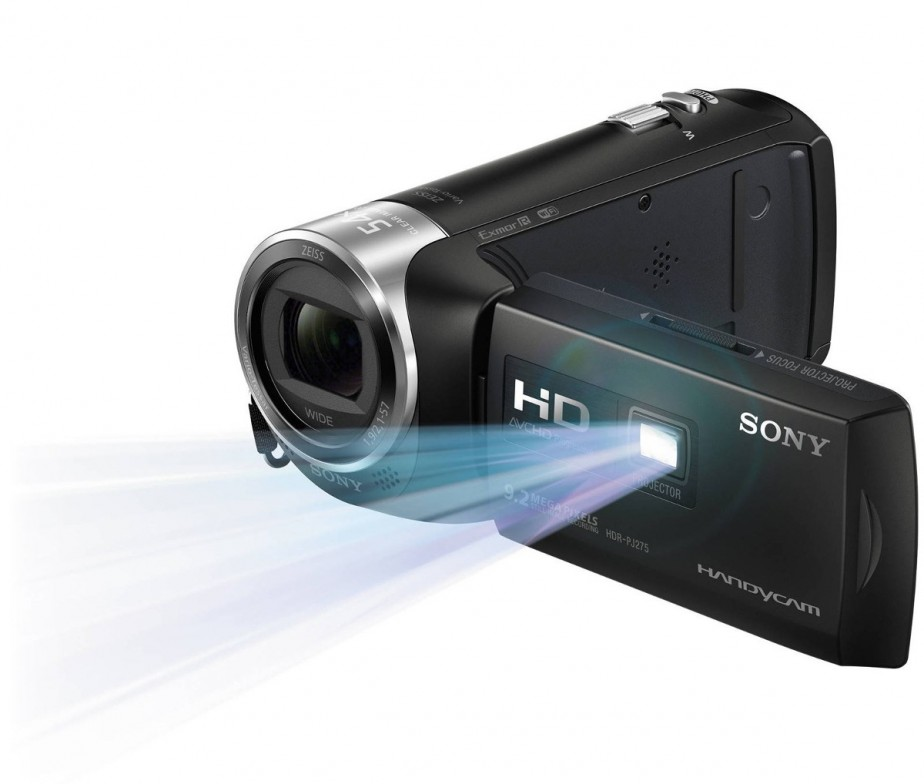 Sony hdr pj275 8gb full hd projector handycam price in for Hd projector