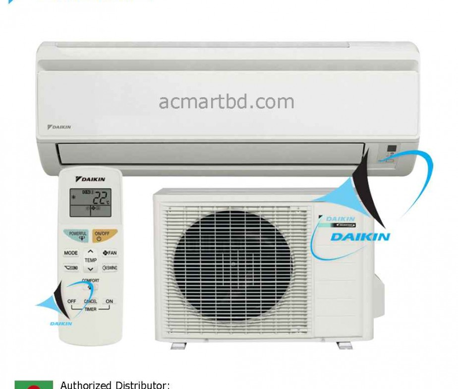 Daikin 1 5 Ton Ft20jxv1 Wall Mounted Air Conditioner