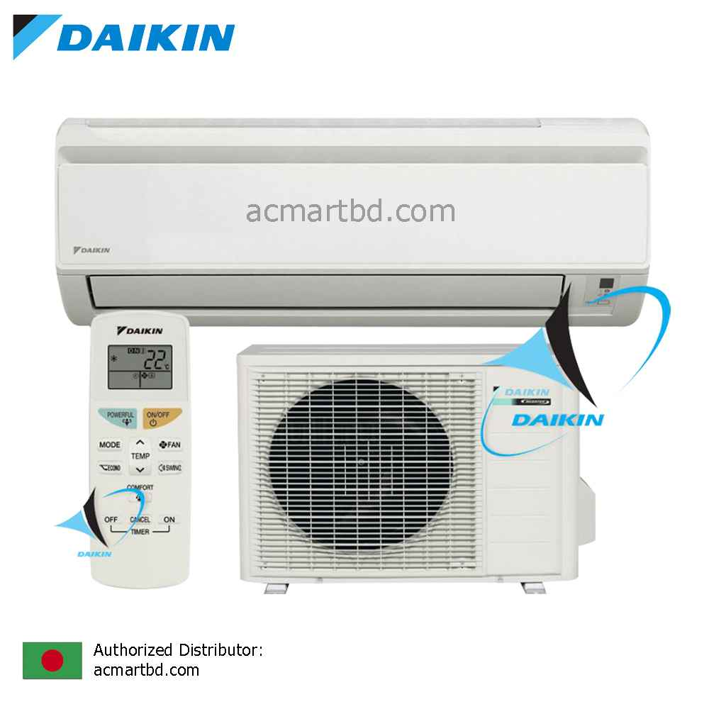 Daikin 2 Ton Ft25jxv1 Wall Mounted Air Conditioner Price