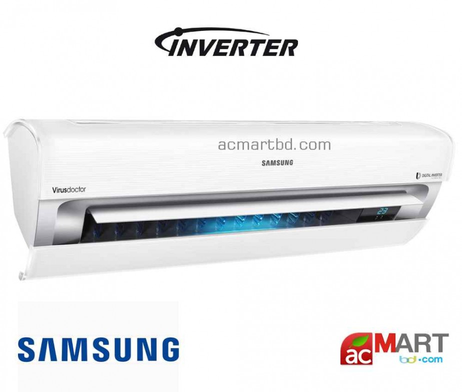 samsung 1 ton ar12j triangular inverter air conditioner price in bangladesh ac mart bd. Black Bedroom Furniture Sets. Home Design Ideas