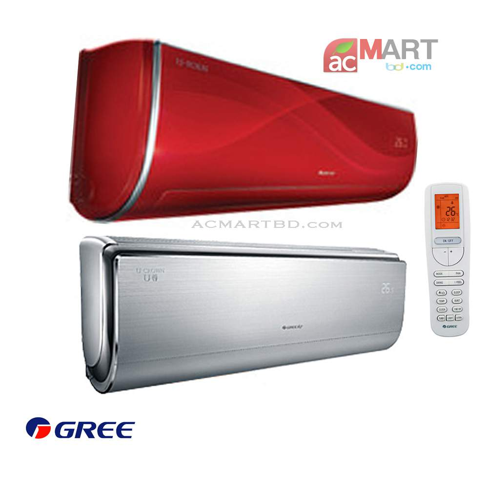 Gree 1.5 ton Inverter GS-18UGV Air Conditioner - Price in desh ... Gree on