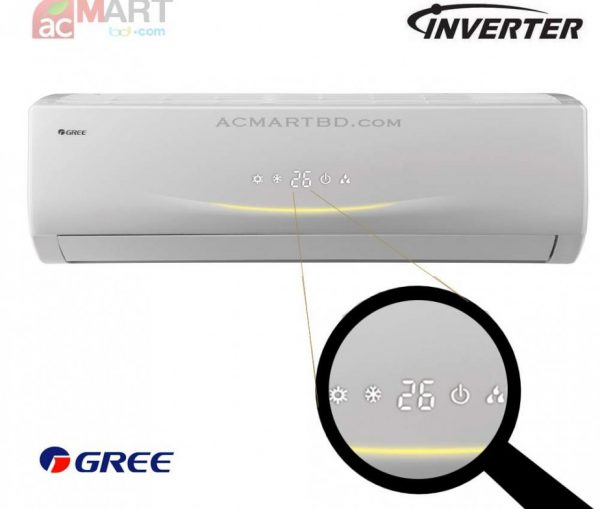 Gree 1.5 ton GSH-18VV Inverter AC best price in bd