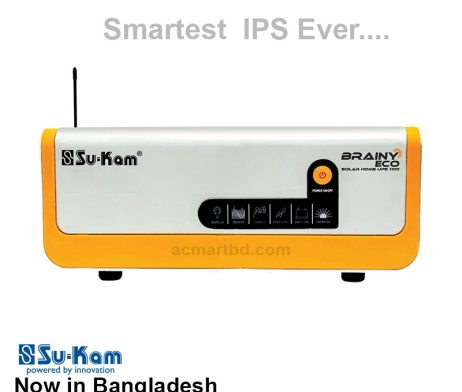 Su-Kam Brainy Eco Hybrid Solar UPS