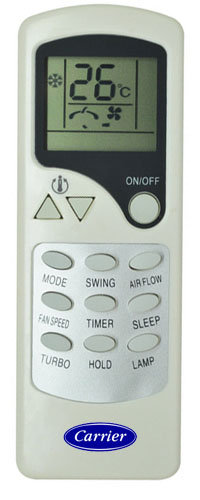 Carrier AC Remote