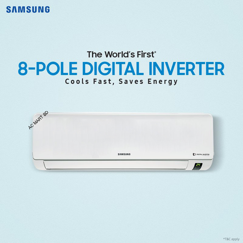 Samsung Inverter 2 0 Ton Air Conditioner Ar24mvfhgwkz